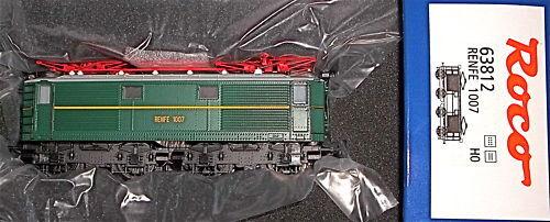 Locomotive Renfe 1007 Epiii Roco 63812 Dss 1 Nouveau   87 Hm1 Μ