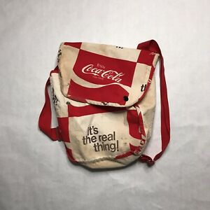 Vintage 80s Coca Cola Backpack Promo Coke
