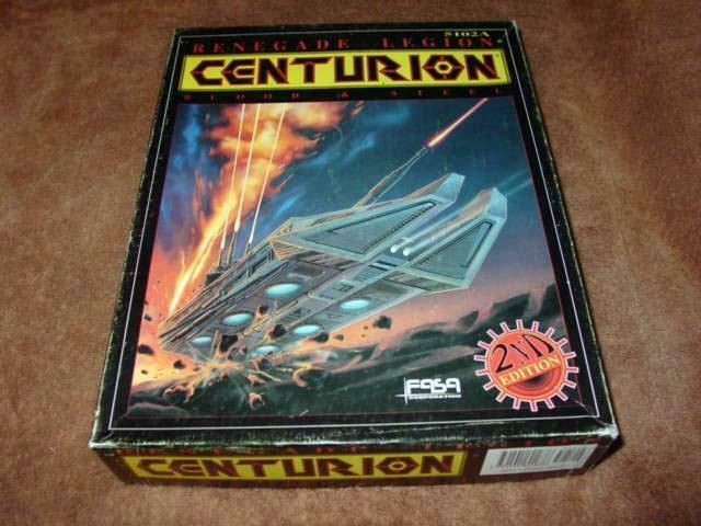 FASA Corp. - Renegade Legion   Centurion - Blood & Steel (Painted War Ships)