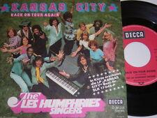 """7"""" - Les Humphries Singers Kansas City & Back on Tour again - 1974 # 5163"""