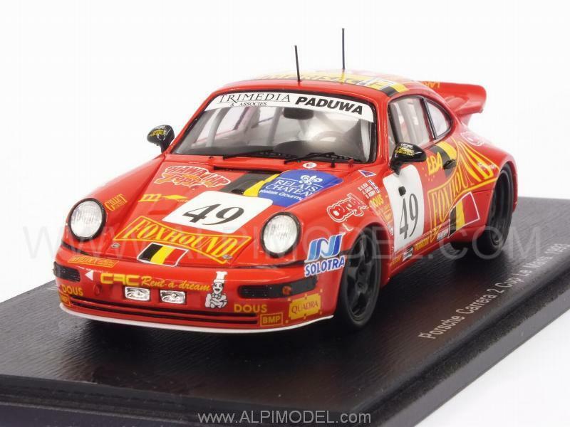 Porsche 911 Carrera 2 Cup Le Mans 1993 Ilien - Gadal - Robi 1 43 SPARK S4441