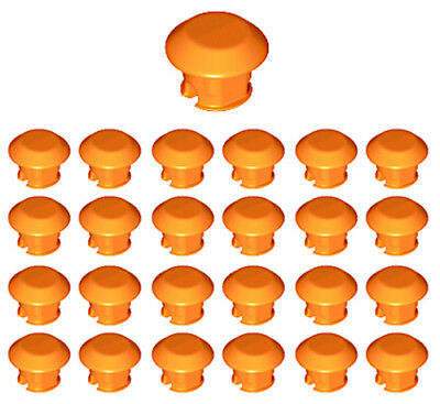 25 Lego Round RUBBER Grips for Tread Links mindstorms,track,ev3,inserts,robot