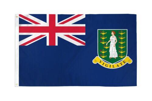 2x3 îles vierges britanniques drapeau 2/'x3/' House Bannière rondelles SUPER Polyester