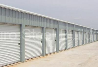 DURO Steel Mini Self Storage Prefab Structures 20x150x8.5 Metal Building DiRECT