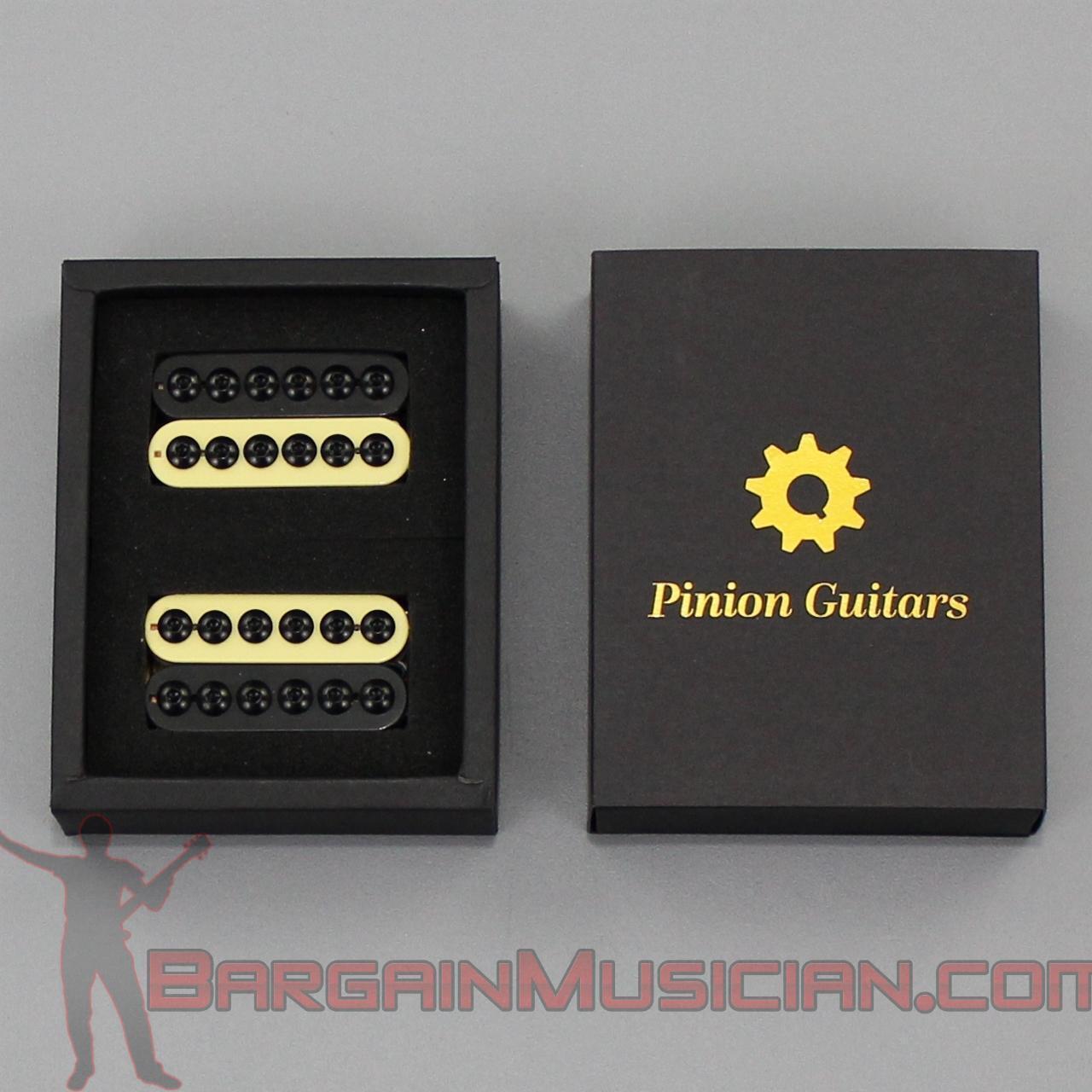 Pinion Guitars - HA3-ZB - Premium Big Pole Humbucker Electric Guitar Pickup Set