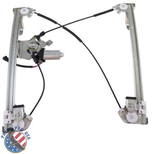 Front Driver Left Power Window Regulator With Motor For 04-08 F-150 Extended Cab
