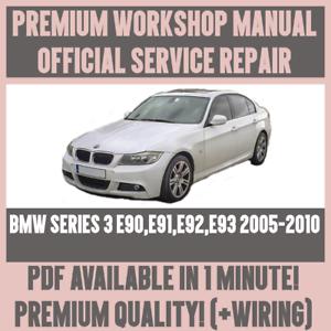 e92 service manual