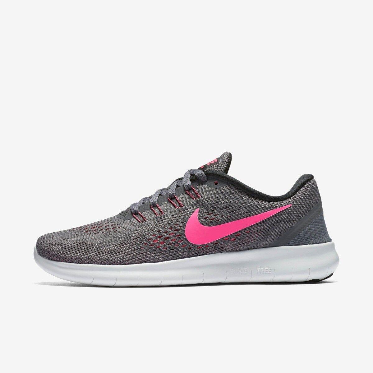 Nike pour femmes FREE courir Taille 5 5.5 6 NEUF Baskets sport gris foncé NEUF 6 5ae25f