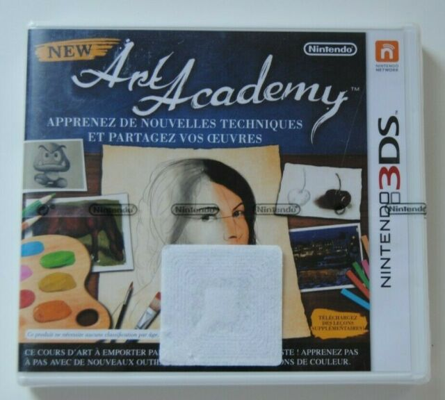 NEW ART ACADEMY CONSOLE NINTENDO 3DS NEW NEUF SCELLE