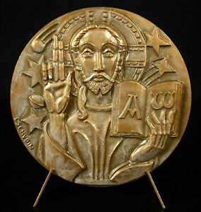 Medal-le-Christ-Teacher-the-Alpha-and-the-Omega-of-Beginnings-and-de-La-End