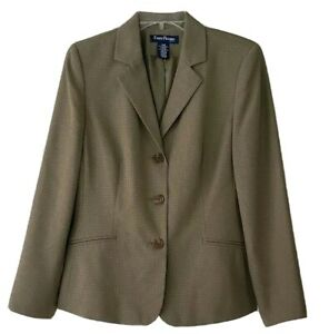 NWT-Women-s-Evan-Picone-Sage-Green-Blazer-Jacket-Size-12P-Fully-Lined-gorgeous
