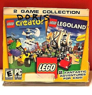 LEGO CREATOR & LEGOLAND 2 GAME COLLECTION (COMPLETE)(VG ...