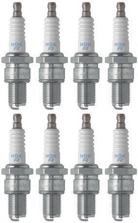 Set of 8 NGK Standard Spark Plugs for Polaris XPLORER 2002-1994 Engine 400cc