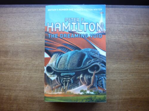 1 of 1 - Peter f Hamilton The Dreaming Void science fiction paperback book void 1