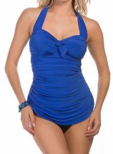 5dd6fda52d416 NEW Magicsuit Womens Solid Jules Soft Cup Tankini Top Size 14 NWT | eBay