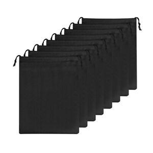 5pcs-Dust-Proof-Cotton-Drawsting-Fabric-Shoes-Bag-Travel-Storage-Holder-Bags