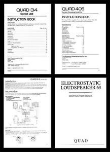 QUAD-ESL57-ESL63-amp-OTHER-SERVICE-MANUALS-ON-CD-R