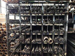 "4130  NORM CHROM MOLY STEEL TUBING 1//2/""x .120 x 6/'"