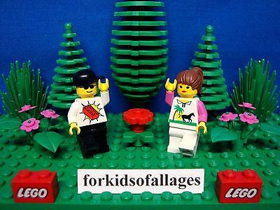 24 Bulk Lego 1x4 FINISHING TILES PLATES Smooth Flat Lime Green /& Black Floor
