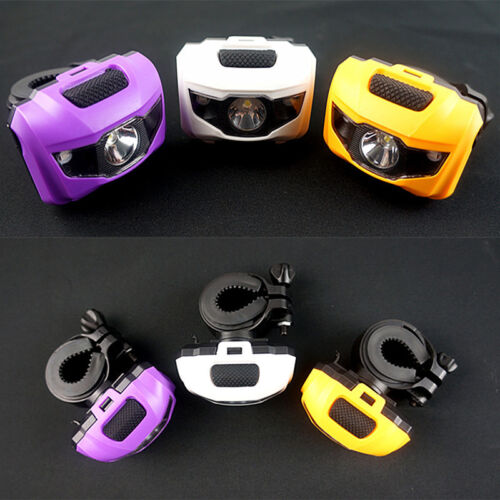 4 Colors Bicycle Light Lightweight Waterproof Light LED Lights for Night