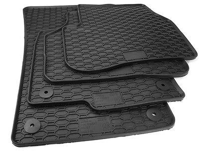 hinten VW Passat 3C 36 B6 B7 R36 CC Original Gummi Matten Fußmatten vorn