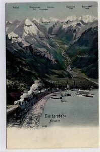 Ak Altdorf Ur Um 1900 ZuverläSsige Leistung Gotthardbahn