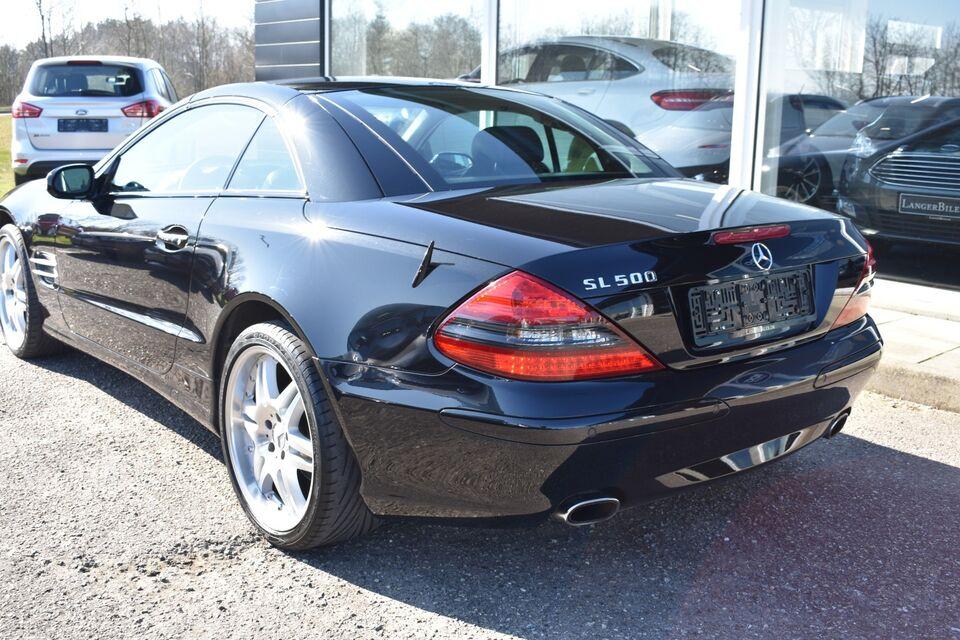 Mercedes SL500 5,0 aut. Benzin aut. Automatgear modelår