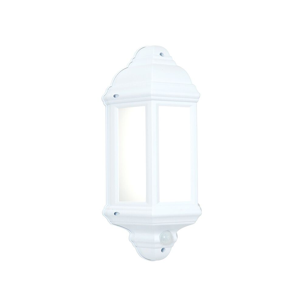 Endon Endon Endon Lighting halbury Sensore PIR LED luce muro esterno in finitura bianca IP44 54554 99734f