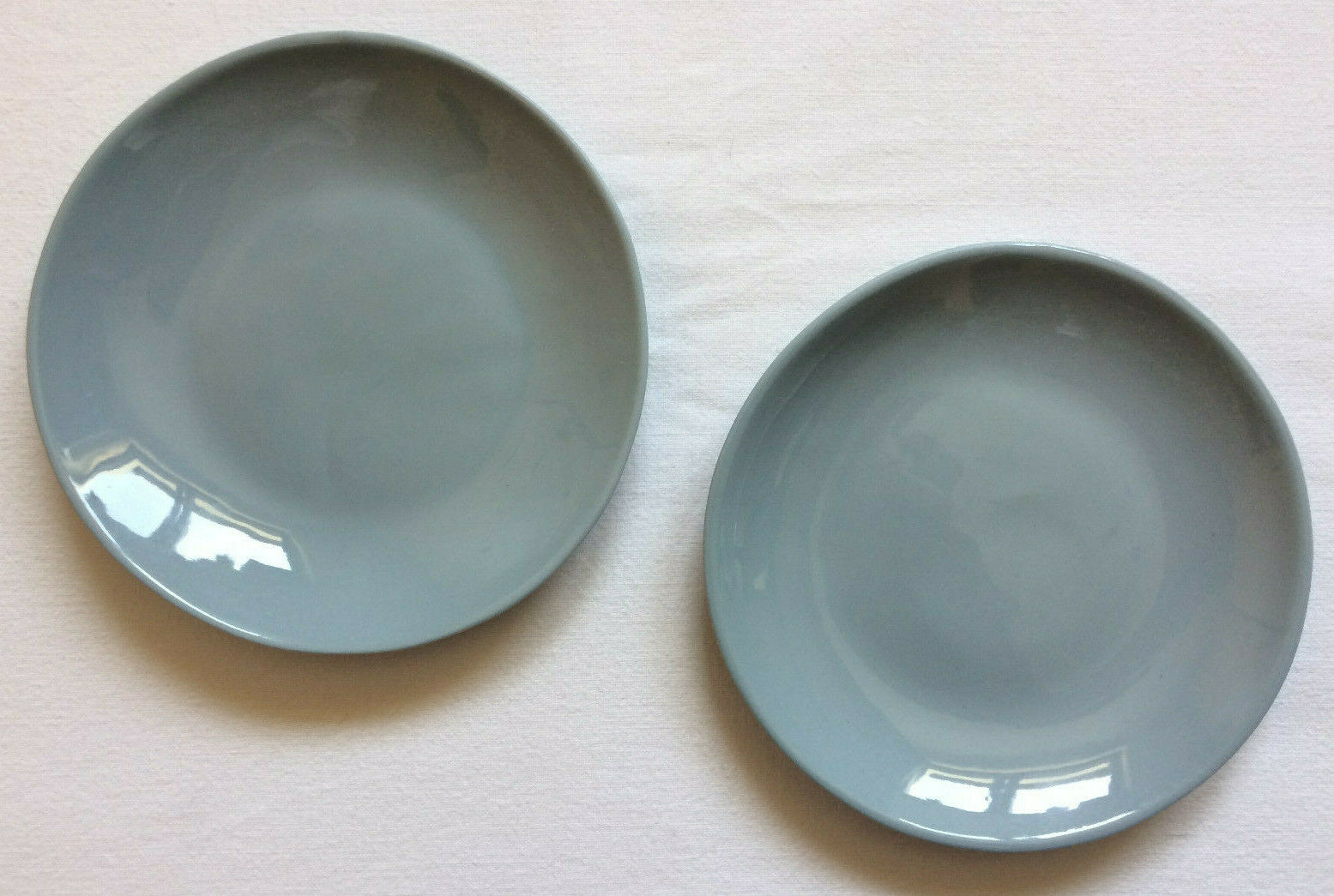 2x ALiCE Plate mini blaugrau ++ Sandra Haischberger feinedinge Teller Untertasse      Sehr gute Farbe