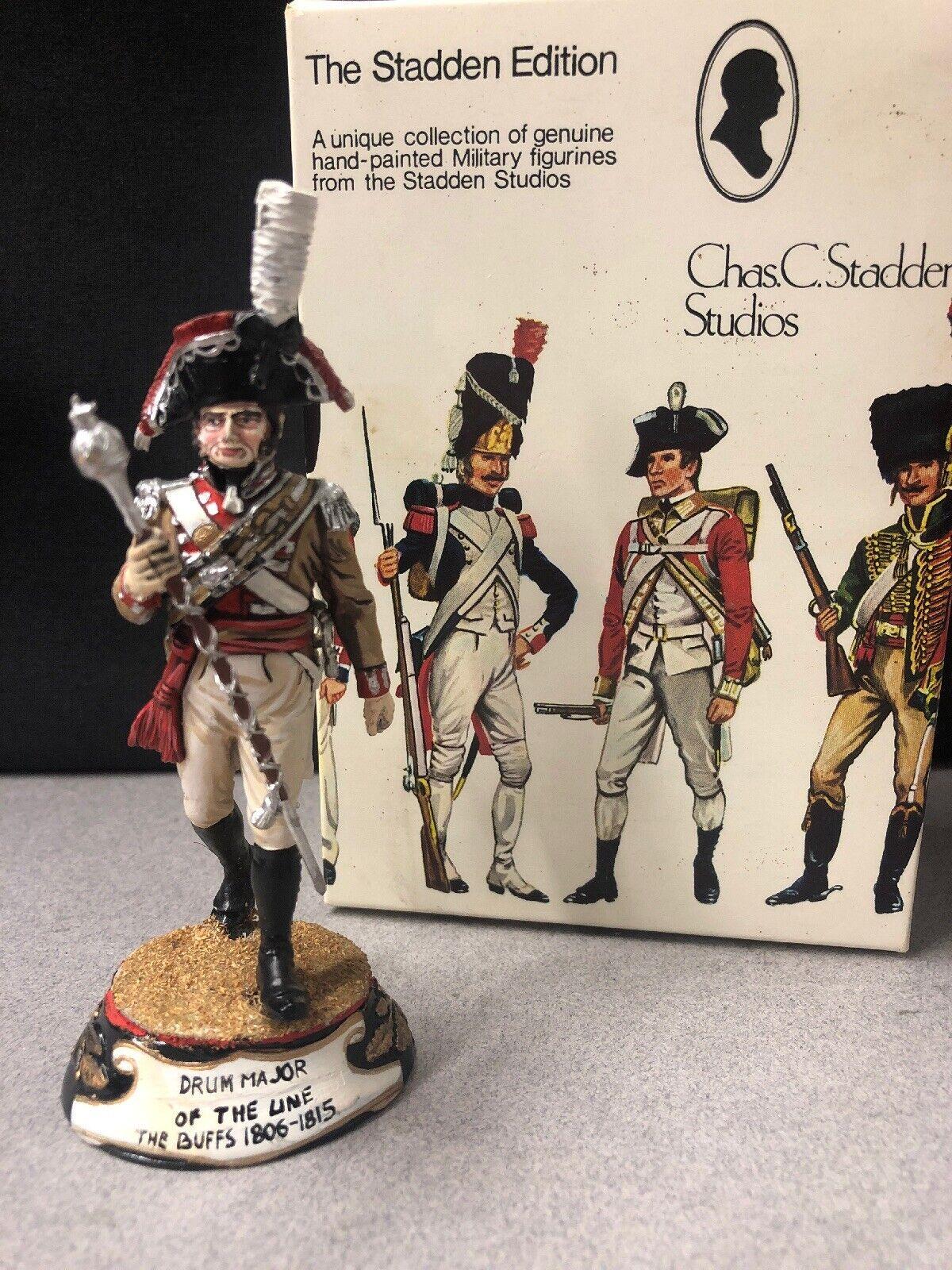 Chas. C. Stadden Studios Ltd. Drum Major of the Line The Buffs 1806-1815