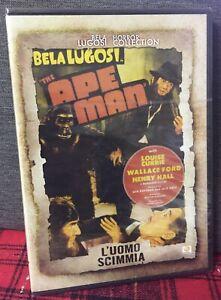 L'Uomo Scimmia (1943) DVD Nuovo Bela Lugosi - The Ape Man - Currie Beaudine