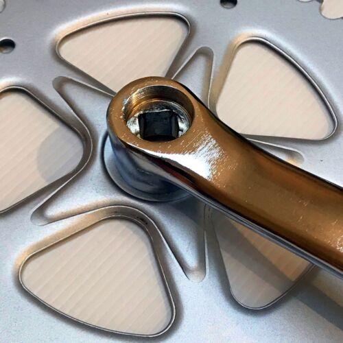170mm Silver 44t Singlespeed Crankset — AUS STOCK — Crank Set Chainwheel Fixie