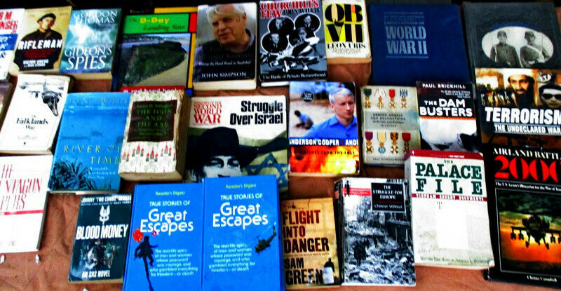 War or Military and history books for sale R45 each choose