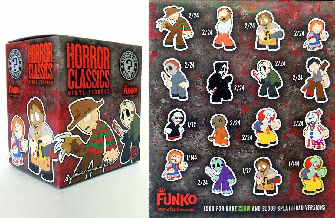 Horror Collection Mystery Minis Series 1 - 10 sealed Blind boxes Extremely rare