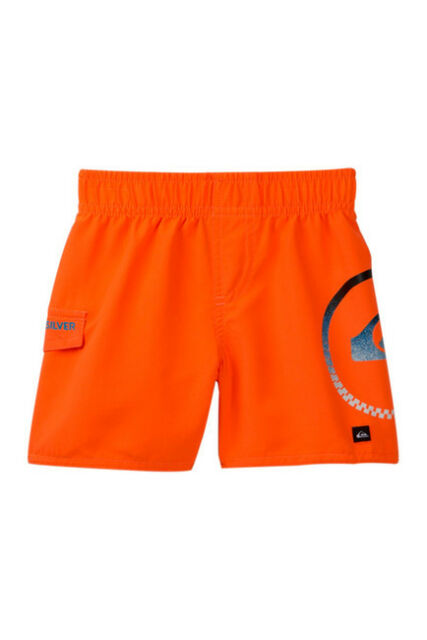 fdeeb1473a Baby Boy Toddler Quiksilver Shocking Orange Board Shorts Swim Trunks Sz 24m  24 Months