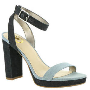 02e9e6d05ab7 Circus by Sam Edelman Annette Blue Navy Two Tone Heel Pumps Sandal ...