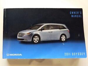original 2011 honda odyssey owners manual book free shipping ebay rh ebay com honda odyssey owners manual 2018 honda odyssey owners manual 2018