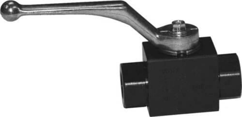 High pressure 2 way ball valve-10L Metric-Barstock steel CAMOZZI BKH 1113 10L