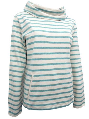New SEASALT Evening Tide Tidal Boslowick Sweater Top Organic Cotton 8-12 RRP £50