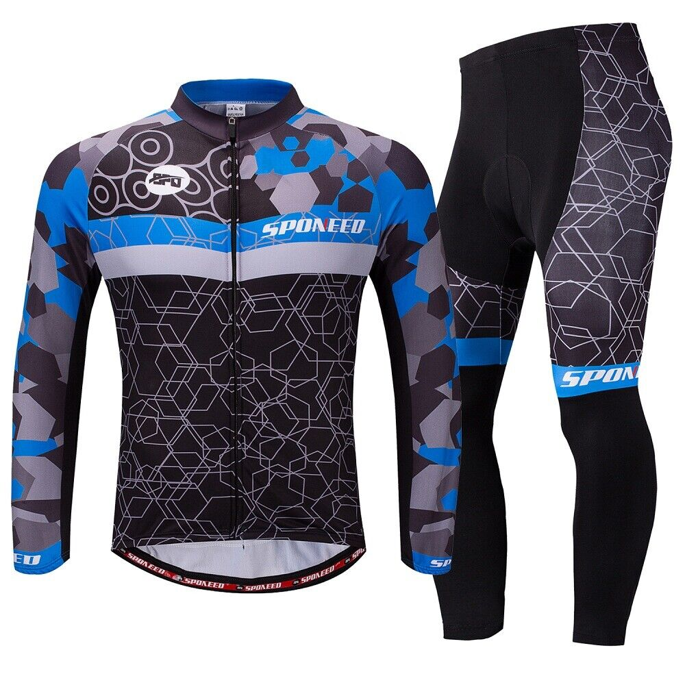 MTB Bike Jersey Pants Men's Riding Cycle Clothes Padded Biking  Trousers Sets  authentic online