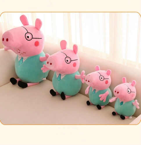 Mode Peppa Pig Schweine Peppa Wutz Familie Plüschtiere Plüsch Puppe Stofftier