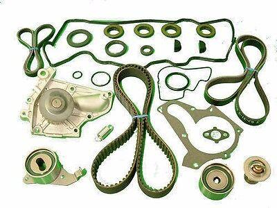 Timing Belt Water Pump Kit TENSIONERS SEALS GASKET Toyota MR2 92 93 94 95 5SFE