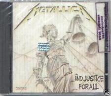 Metallica and Justice for All CD 1988 Vertigo Made in France