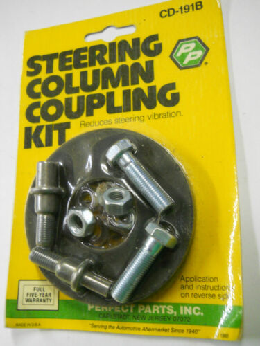Perfect Parts Universal 3-3//16/'/' Steering Coupling Disc Kit for GM /& Chrysler