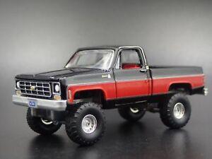 1978-78-Chevy-Chevrolet-Camioneta-cuerpo-cuadrado-1-64-escala-Diecast-Modelo-de-Coche