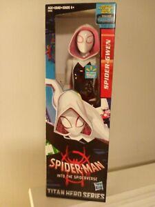 """SPIDER-GWEN 12/"""" Inch Marvel PowerFX Spider-man Titan Hero Series Figure NEW MISB"""