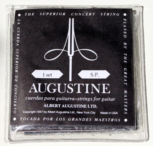 Low Tension 1 Satz Augustine Black Konzert Gitarren 6 Nylon Saiten Set