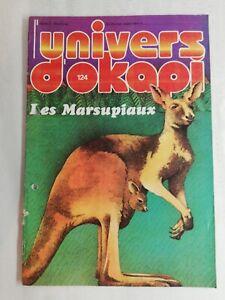 N49 Rivista Universo Okapi N° 124 I Marsupiali, Documento Eccezionale
