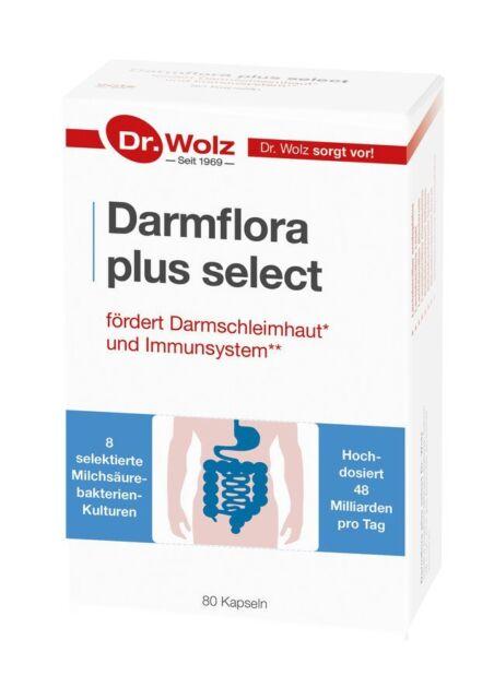 Dr.Wolz Darmflora plus select, 80 Kapseln