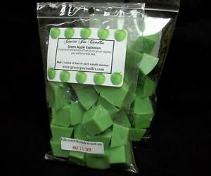 GREEN-APPLE-EXPLOSION-Scented-Tart-Wax-Melts-Chunks-Chips-Home-Candle-Scents
